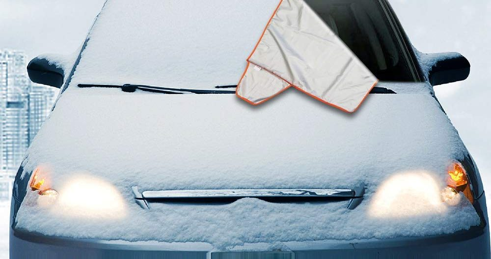 This $9 Snow Cover Will Keep Your Windshield Scratch-Free